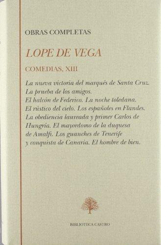 9788489794115: Lope de Vega. comedias XIII