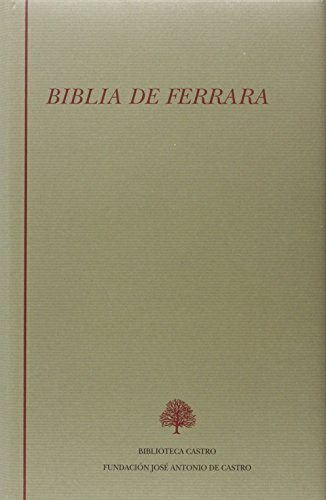 9788489794962: Biblia de ferrara