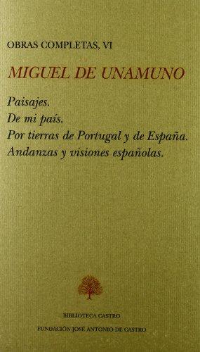 9788489794993: Miguel de unamuno obras completas VI