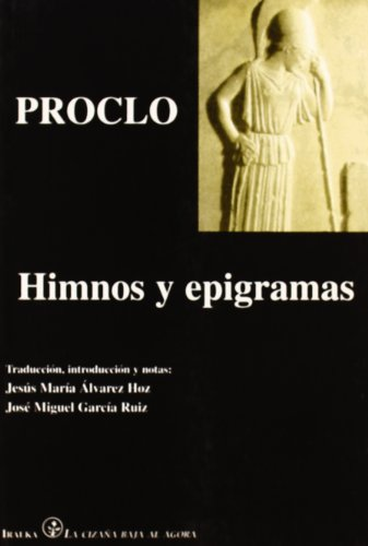 9788489806221: Himnos y efigramas
