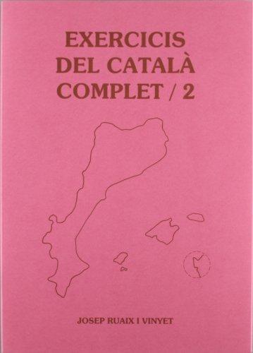 9788489812154: EXERCICIS DEL CATALA COMPLET 2 -CARPETA- (CLARET)