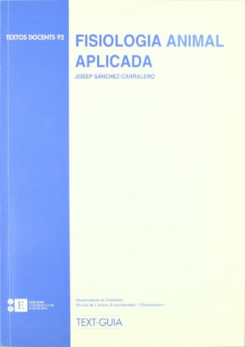 9788489829497: Fisiologia Animal Aplicada (TEXTOS DOCENTS)