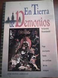 9788489832398: En tierra de demonios