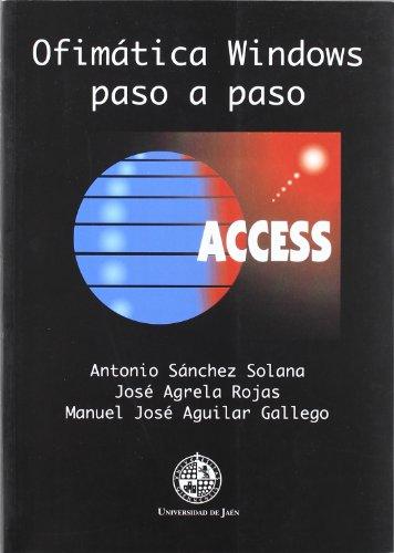 9788489869783: Ofimática Windows paso a paso: Access