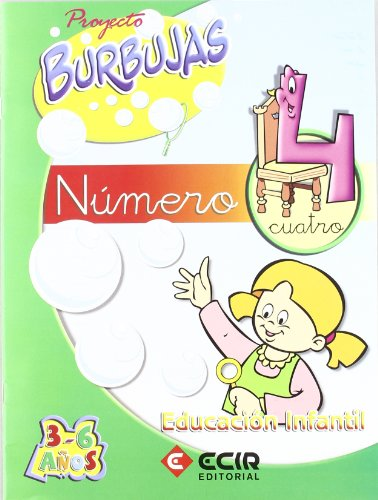 9788489886933: Proyecto Burbujas, matemáticas 4, Educación Infantil