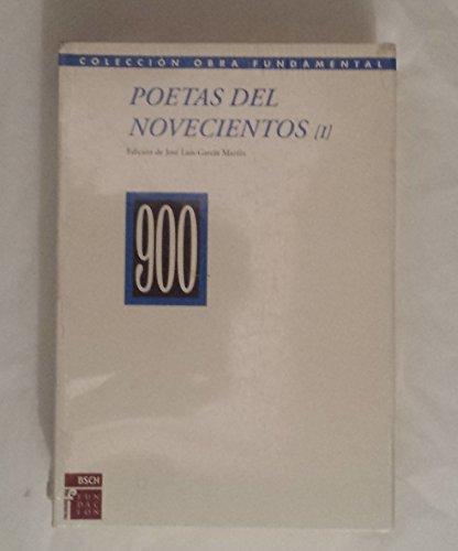 9788489913288: Poetas del novecientos