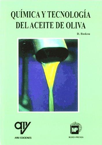 9788489922068: Quimica y tecnologia de aceite de oliva