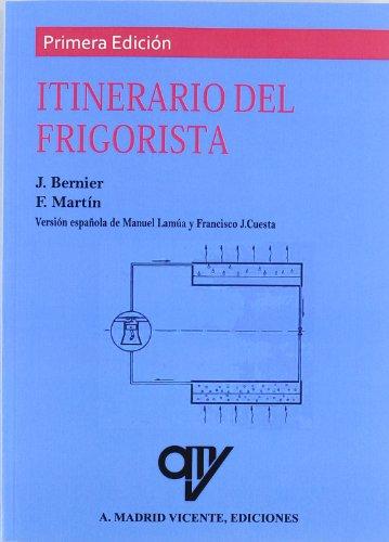 9788489922075: Itinerario del frigorista (Spanish Edition)