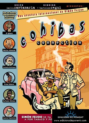9788489929210: Cohibas Connection: Un caso internacional de Simon Feijoo (Sol y sombra)