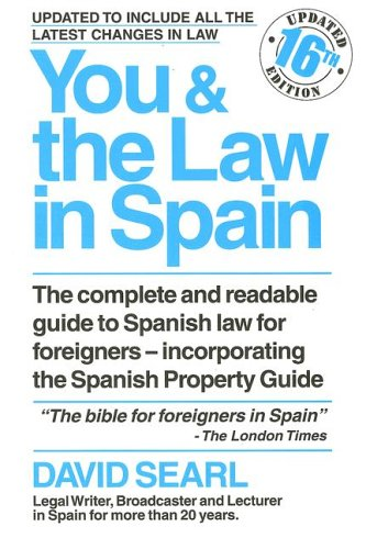 9788489954410: You and the Law in Spain