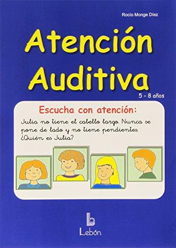 9788489963917: Atención auditiva