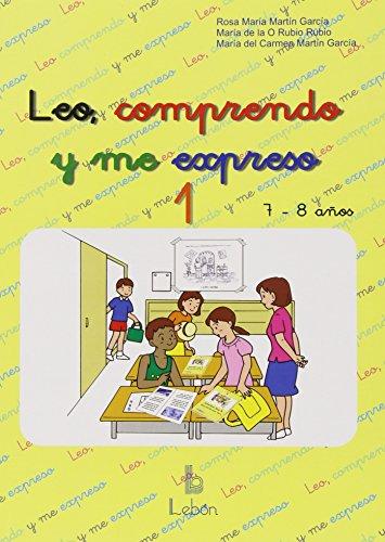 9788489963924: Leo, comprendo y me expreso 1