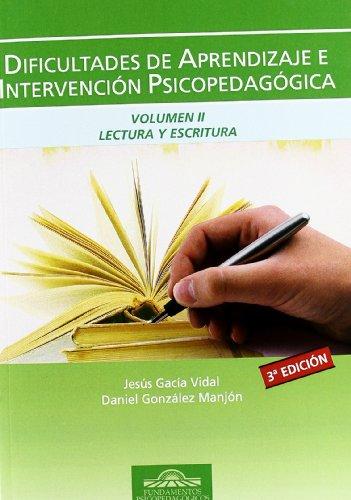 Manual dificultades aprendizaje, vol.ii. lectura y escritura: Garcia Vidal,Jesus/Gonzalez Manjon,D.