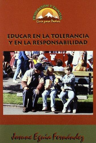 9788489967762: Educar en la tolerancia y en la responsabilidad (Educación y Familia)