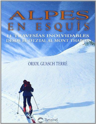 9788489969766: Alpes en esquis