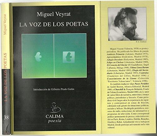 9788489972568: La voz de los poetas
