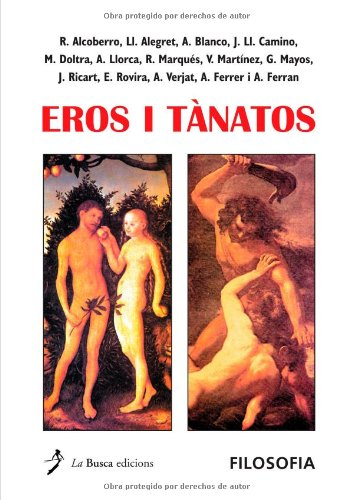9788489986947: Eros I Tànatos (Spanish Edition)