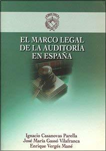 9788489996946: EL MARCO LEGAL DE LA AUDITORÍA