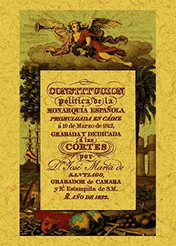 9788490010006: Constitución política de la Monarquía Española: promulgada en Cádiz a 19 de marzo de 1812: La Pepa