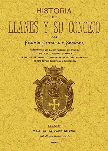 9788490011539: Historia de Llanes y su Conejo [Dec 14, 2011] Canella y Secades, Fermin