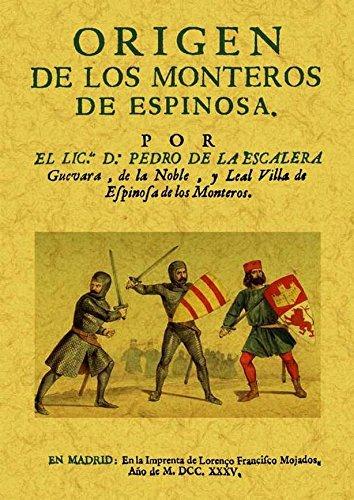 9788490013144: Origen de los Monteros de Espinosa.