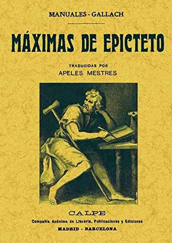 9788490013502: Máximas De Epicteto