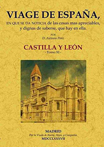 9788490013663: VIAGE DE ESPAA CASTILLA Y LEON TOMO XI