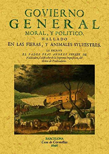 GOVIERNO GENERAL MORAL Y POLITICO HALLADO EN: FERRER DE VALDECEBRO,