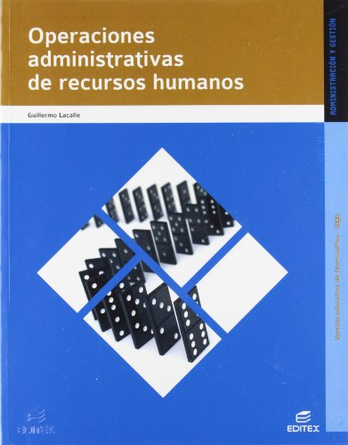 9788490030448: Operaciones administrativas de recursos humanos