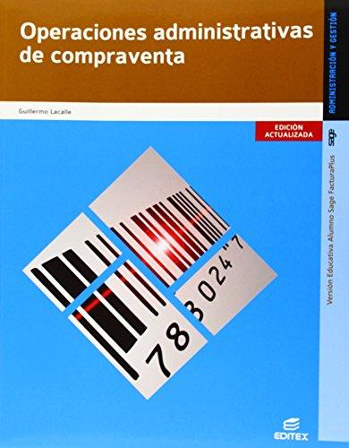 9788490032954: Operaciones adminstrativas de compraventa (Ciclos Formativos)