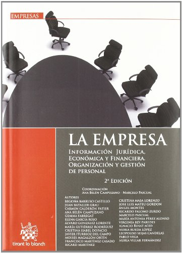 9788490041390: La empresa . Información jurídica, económica y financiera . Organización y gestión de personal