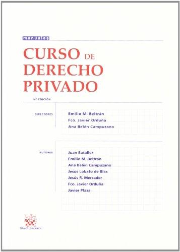 9788490042175: Curso de Derecho privado