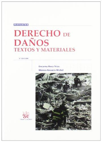 9788490042960: Derecho de daños Textos y materiales