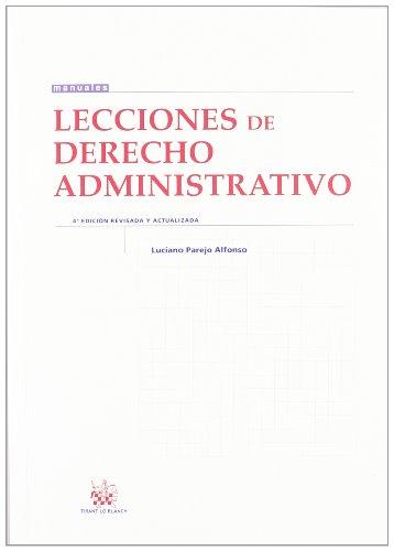 9788490043042: Lecciones de Derecho Administrativo