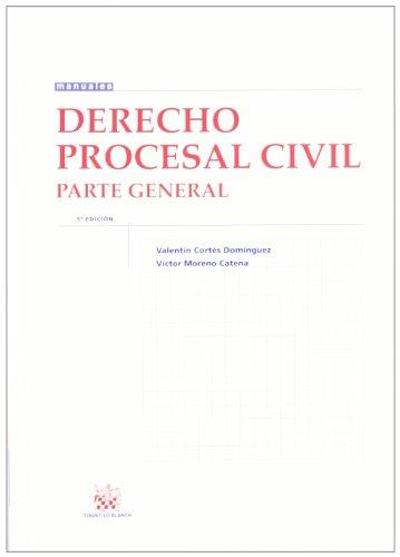 9788490043349: Derecho procesal civil : parte general