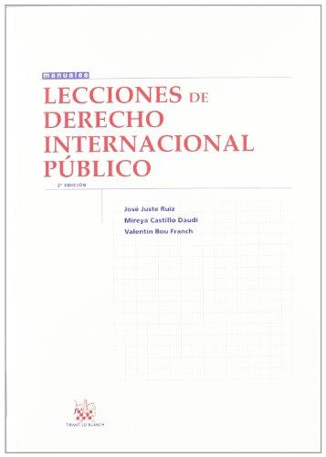 9788490043387: Lecciones de derecho internacional público 2ªEd. (Spanish Edition)
