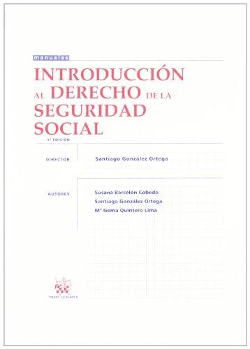 9788490043516: Introducción al Derecho de la Seguridad Social