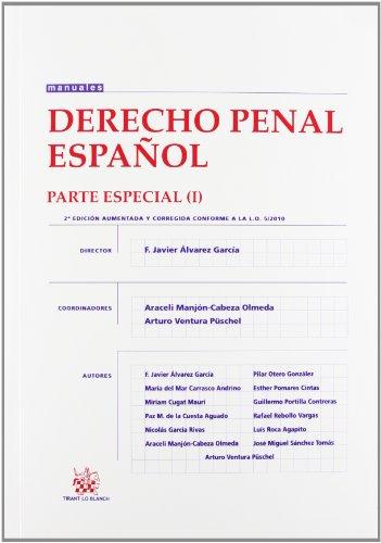 9788490044421: Derecho Penal Español Parte Especial I