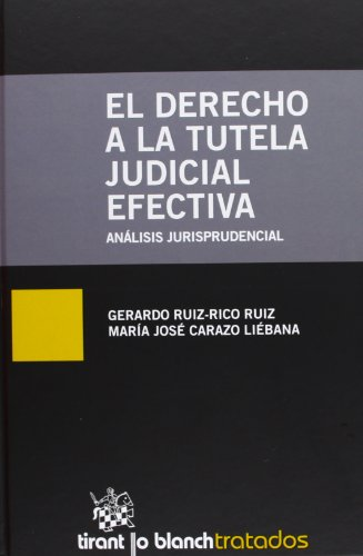 9788490045008: El derecho a la tutela judicial efectiva