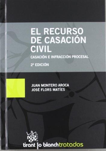 9788490046838: El recurso de casaciA³n civil