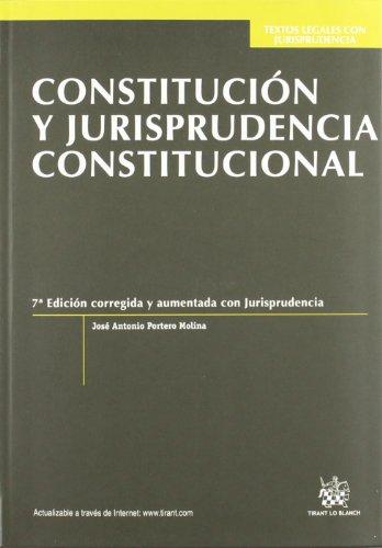 9788490048627: Constitución y jurisprudencia constitucional