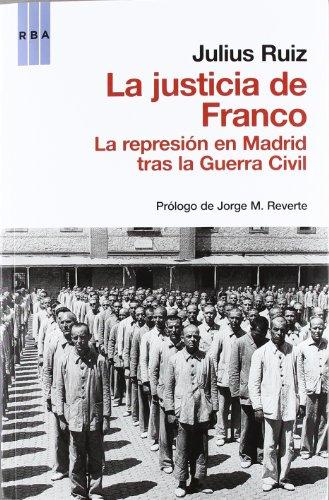9788490062432: La justicia de franco