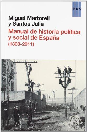 9788490063996: Manual de Historia Política y Social de España