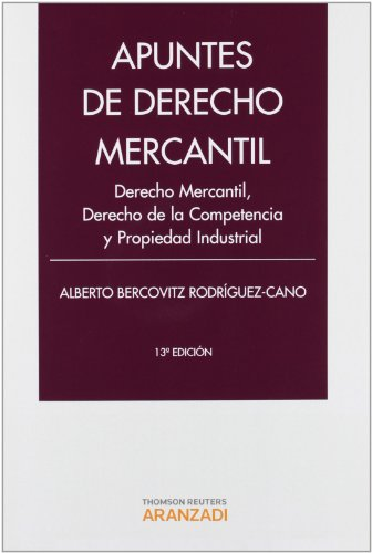 9788490140239: Apuntes de Derecho Mercantil: Derecho Mercantil, Derecho de la Competencia y Propiedad Industrial (Manuales)