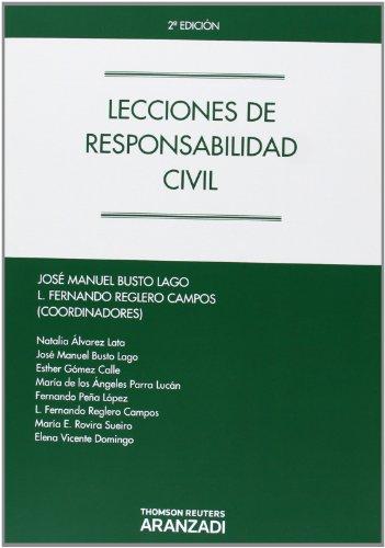 9788490140819: Lecciones de Responsabilidad Civil (Manuales)