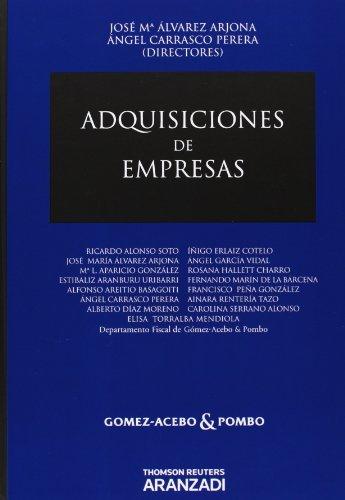 Adquisiciones de empresas: Alvarez Arjona, José