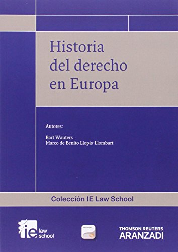 9788490149140: Historia Del Derecho En Europa ( + Proview) (Monografía)