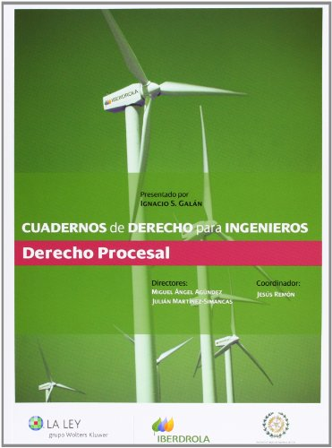 9788490200124: Cuadernos de derecho para ingenieros (n.º 16): Derecho procesal