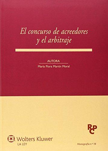 9788490203194: El concurso de acreedores y el arbitraje