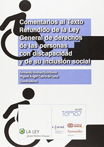 Comentarios al texto refundido de la ley: Arenas Escribano, Fernando